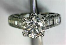 Beautiful Vintage style Diamond Ring - with over 1 Carat of Diamonds!