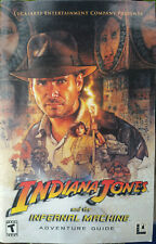Replacement User Manual Indiana Jones and the Infernal Machine Adventure Guide