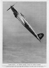 *** HEINKEL, Biplace de chasse Allemand ** 1937 - photo (23 x 32,5) // p561