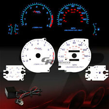 REVERSE DASH CLUSTER INDIGLO GLOW GAUGE FOR 95-99 DODGE AVENGER WITH OIL GAUGE