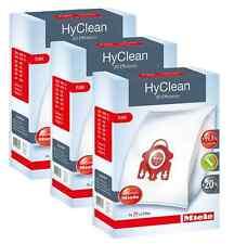 ORIGINAL MIELE FJM HYCLEAN 3D EFFICIENCY VACUUM BAGS - x3 BOXES!