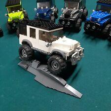 Lego Jeep custom Erockzart Wrangler 4X4 lifted Rubicon speed champions truck MOC