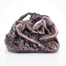 Erotic Female Lovers Bronze Sculpture Lesbian / Gay Interest. Art, Gift Ornament