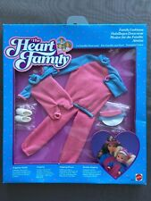 Barbie heart family vintage pink jogging # 2619 from 1986 NRFB
