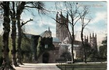 CANTERBURY  CATHEDRAL COLOUR  POSTCARD (1904)