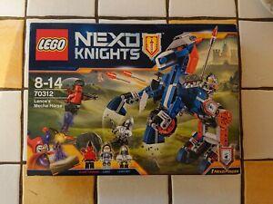 LEGO Nexo knights 70312 NEUF  Le Méca-cheval de Lance