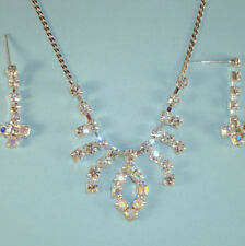 Designer Inspired PROM, WEDDING Special NEW Necklace Crystal Silver Chain USA