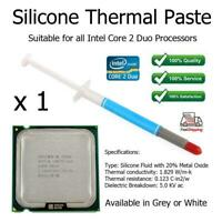 1 x Silicone Thermal Heatsink Paste Grease Tube for Intel Core 2 Duo Processors
