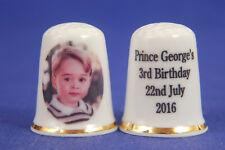 Prince George's 3rd Birthday 22nd July 2016 China Thimble B/84