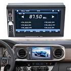 "2 DIN Negro Radio De Coche Bluetooth 6.5"" Touch Screen DVD CD MP3 MP4 Player USB"