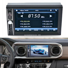 "2 DIN Negro Radio De Coche Bluetooth 6.5"" Touch Screen DVD CD MP3 MP4 Player USB"