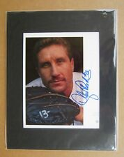 Detroit Tigers 1984 World Series Hero Lance Parrish Signed / Matted photo 11x14