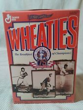 1995 Wheaties Negro Leagues 75th Anniversary Unopened Cereal Box Paige Gibson