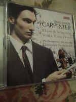 Audio CD. Misc. Elgar and Schnittke Viola Concerti. Carpenter.