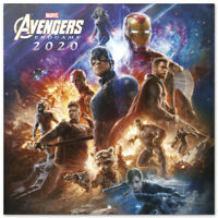 Marvel Avengers End Game Official (Free Poster) Calendar 2020
