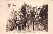 TROIS-RIVIERES, QUEBEC, CANADA, CHATEAU DE BLOIS HOTEL, STREET, CAR, used 1931