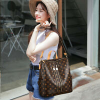Women PU Leather Backpack Shoulder Bag Travel Anti Theft Waterproof Rucksack