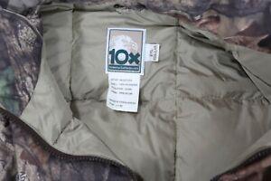 10x Down Vest Advantage Timber Camo Mens 2XL Hunting