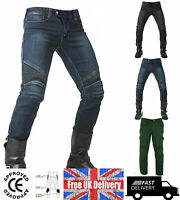 Motrox Motorbike Motorcycle Jeans Cargo Style Riding Trousers / Pants