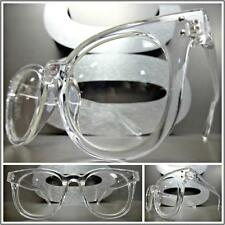 Men's VINTAGE 50's RETRO Style Clear Lens EYE GLASSES Transparent Fashion Frame