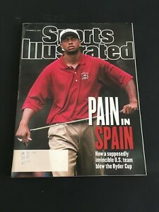 SPORTS ILLUSTRATED Tiger Woods Ryder Cup October 6 1997