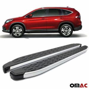 Side Steps Running Boards Nerf Bars Aluminum 2 Pcs. For Honda CRV 2012-2016
