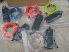 New Zitrades EL Wire Kit 16ft, 5M Portable Neon Lights for Parties LOT of 5 LED