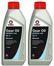 2X Comma EP85W-140 1L Gear Oil - HMG1L -  API GL-5