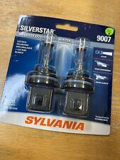 SYLVANIA 9007 SilverStar High Performance Halogen Headlight Bulb, 2 Bulbs