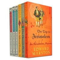 Edward Marston 6 books Collection Set, Railway Detective & Nicolas Bracewell Ser