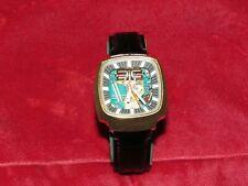 1975 BULOVA Accutron 214 Spaceview 100 Anniversary Men's Gold Watch Clean Runnin