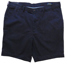 Men's POLO RALPH LAUREN Navy Blue Twill Chino Shorts 44T TALL NWT Classic Fit