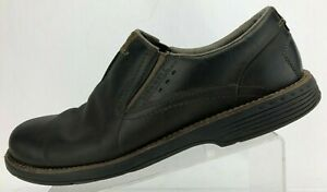 Merrell Loafers Realm Moc Black Leather Casual Slip On Shoes Comfort Mens US 14