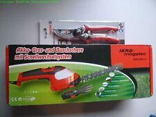 IKRA Akku Gras- und Strauchschere GBS 8050 LI+Gartenschere