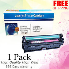 1PK Compatible CE743A Magenta Toner for HP 307A Laserjet CP5225 CP5225DN Printer