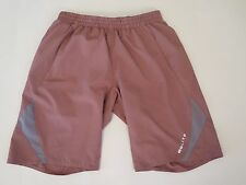 GOLITE MESA TRAIL 12 LINED UNDERGARMENT LONG RUNNING SHORTS BROWN SIZE SMALL