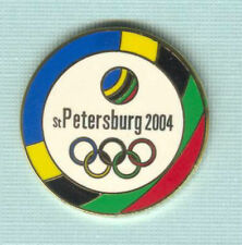 OLYMPIC BID PIN FROM ST. PETERSBURG RUSSIA FOR THE 2004 OLYMPICS