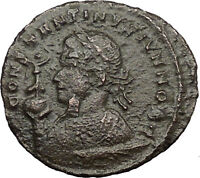 CONSTANTINE II Jr. Constantine the Great son Ancient Roman Coin ALTAR i32777