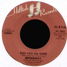 BROADWAY - Love Bandit / Kiss You All Over - hiltack