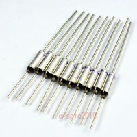 10 Pcs NEC SEFUSE Cutoffs SF152E 157 °C 10A 250V Thermal Fuse Microtemp NEW A102