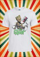 Baby Groot Guardians Of The Galaxy Men Women Vest Tank Top Unisex T Shirt 1943