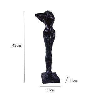 Nordic Broken Arm Statue Sculpture Figurine Ornament Home Office Decoration Art