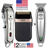 Kemei Electric Hair Clipper Trimmer Shaver Professional & Home Haircut Trimmer