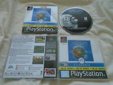 Populous The Beginning PS1 (COMPLETE) rare Bullfrog Sony PlayStation