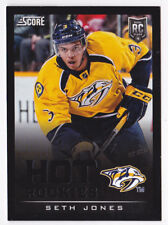 13-14 Score Seth Jones BLACK Rookie Parallel Blue Jackets 2013