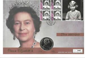 """Various """"Coin Covers"""" Relating to H.M Queen Elizabeth II Several Available"""