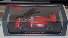 1/43rd SPARK SIGNED  Alan Jones  Lola THL2  Belgium Grand Prix 1986
