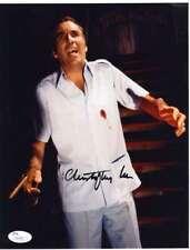 CHRISTOPHER LEE Hand Signed JSA COA 8x10 Photo Autographed Authentic JAMES BOND