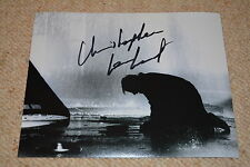 CHRISTOPHER LAMBERT signed Autogramm 20x25 cm In Person HIGHLANDER