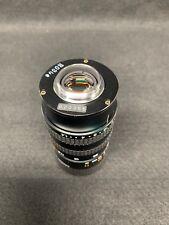 Canon TV Zoom Lens, j6x11 Macro 115-69mm F1:14